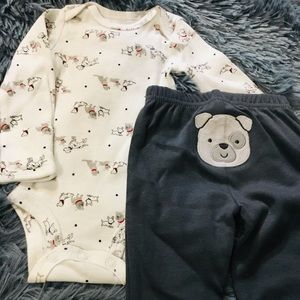 Newborn Baby Shirt and Pant Outfit